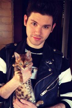 Ryan Ross. He forking loves that cat