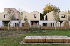 Eco-cité La Garenne I 34 logements I Fourchambault - Guillaume Ramillien Architecture Urbanisme Illustration