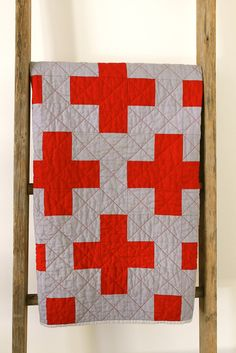 Alternatively titled, Nurse Crawley Quilt.        100% inspired by the WWI British military nurse uniform depicted in  Downton Ab...