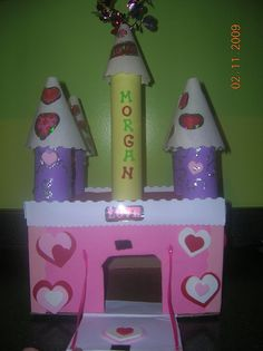 Valentine's Box for Kaylee or Karlee!