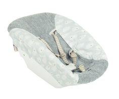Trixie Baby Bezug für Stokke Newborn Set Wolken