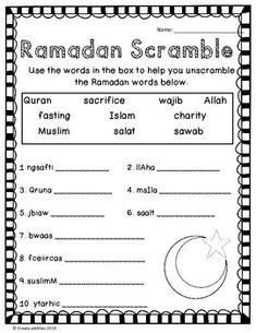 Ramadan Activity Pack!