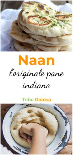 Naan: l'originale pane indiano - pane, amore e fantasia - Quinoa Recipes Food Porn, Warm Food, Cold Meals, Food Humor, Daily Meals, Vegan Dishes, International Recipes, My Favorite Food, Indian Food Recipes