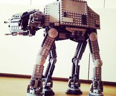 Star Wars LEGO AT-AT Walker  Recreate epic galactic battles from the comfort of home with the Star Wars LEGO AT-AT Walker. Once its been fully assembled the AT-AT stands over a foot tall and features a moving head with enough space in the cockpit for two LEGO Stormtroopers.  $99.99  Check It Out  Awesome Sht You Can Buy