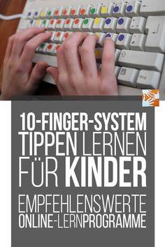 10-Finger-System: Tippen lernen für Kinder - empfehlenswerte Online-Lernprogramme