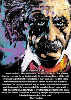 Einstein...the Creationist Sweet Quotes, My Brain, Wisdom Quotes, Food For Thought, Einstein, Spirituality, Faith, Words, Spectrum