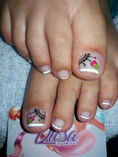 Pedicure Designs, Toe Nail Designs, Toe Nail Art, Toe Nails, French Pedicure, Pedicures, Diana, Prince, Hair Beauty