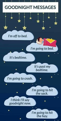 Quick Learn English : Ways to saye good night
