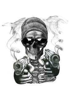 Gangster Drawings, Sick Drawings, Gangster Tattoos, Dark Art Drawings, Pencil Art Drawings, Lace Skull Tattoo, Skull Tattoo Design, Dragon Tattoo Designs, Skull Tattoos