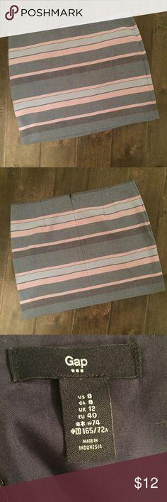 GAP Skirt Pretty striped skirt. GAP Skirts Mini