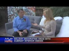 Holiday Decorating with Cuspant Interior Design