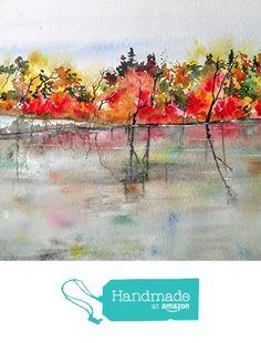 WATERCOLOR ORIGINAL Painting, Original Watercolor Painting-watercolor landscape, Pinetreeart, WATERCOLOR, landscape original, painting from Maine ARTist http://www.amazon.com/dp/B01G25E264/ref=hnd_sw_r_pi_dp_YBYqxb1B1JAJW #handmadeatamazon