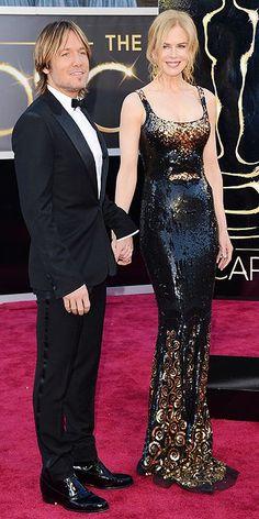 Keith Urban & Nicole Kidman (in L'Wren Scott fashion designer dress)