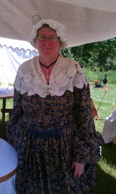 1700s dress I made for a festival