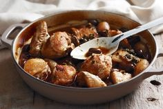 #braised #chicken with olives & capers #dinner #recipe #healthy #food #cooking