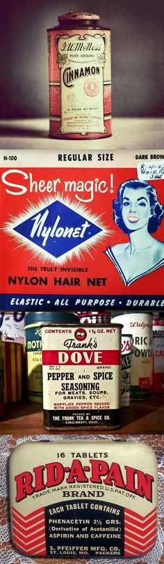 These Old Product Packagings Provide the Ultimate Vintage Design Inspiration