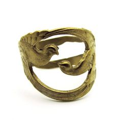 (4) Fab.com | Modern Day Heirlooms  Double Bird Ring