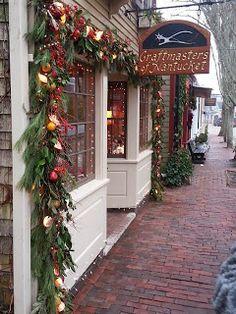 Cape Cod Historic Homes | Blog: Christmas on Nantucket