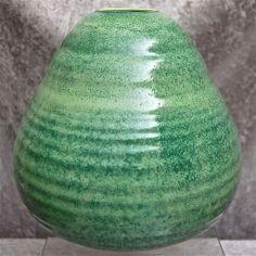 "Cowan Pottery ""Beehive"" Vase ""Fir Green"" Matrix Glaze, Ca. Beehive, Pottery Art, American Art, Glaze, Art Deco, Sculpture, Green, Enamel, Bee Boxes"