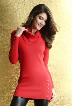 Cowl neck, Sweater dresses and Cowls on Pinterest