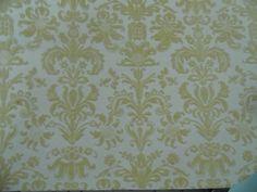 Flock printed metallic paper