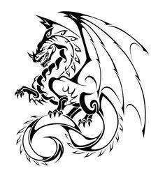 Dragon Tattoo Vector by ~thiagobreis on deviantART