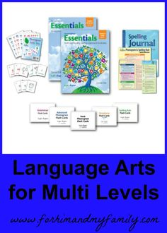 Looking for a new curriculum for next year? How about a language arts for multi levels? This is an awesome idea and I can't wait to tell you about one!