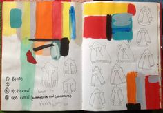2006 Red Graffiti Sketchbook 'BO130' (Circus Alkan) by Stephen Vicary©