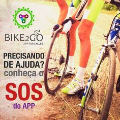 O Bike2Go app irá te ajudar quando você mais precisar com o nosso SOS você não ficará na mão. Caso aconteça um imprevisto como: furar o pneu da magrela quebrar a corrente e até mesmo acidentes outros usuários poderão te socorrer e te ajudar a continuar pedalando. Breve disponível nas plataformas Android e IOS. #Bike2Go #appforcycles #bike #bicicleta #pedal #sustentabilidade #pedalsustentavel #app #ciclismo #ciclista #ciclofaixa #ciclorota #bikesampa #bikerio #bikelife #bikes #bikeride…
