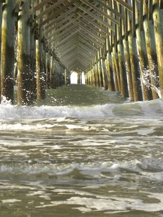 Feeling as though I'm about to be overtaken in Folly Beach, SC. Taken by me.