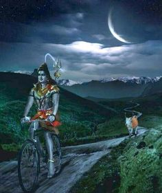 shiva's on his way