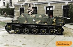 Hungarian Lehel prototype of 1943 . This vehicle was a modification of Nimrod into an armored personnel carrier and ambulance. Never entered production Defence Force, Fighter Aircraft, Military History, Armed Forces, Military Vehicles, Ww2, Army, World War Two, Machine Guns