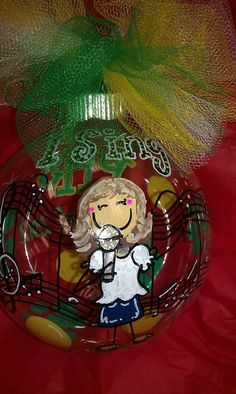 I Love To Sing Ornament  $25