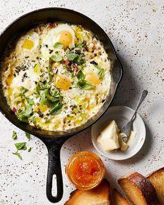 Savory Egg Skillet Recipe
