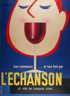 wine poster vintage - Google 検索