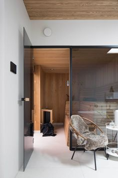 Villa J / Johan Sundberg. Home sauna - yes, please!