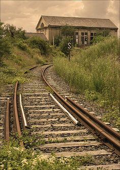 Abandoned railway in the Alsace by Foto Martien, via Flickr