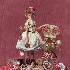 Steam Pink - Full Kit by #WendyPDesigns #thestudio #digitalscrapbooking