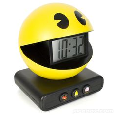 Funny Alarm Clock Looks and Sounds Like Pac Man