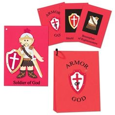 Armor of God Booklet (to go with the prayer cards?)
