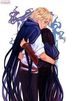 Kelsier and Vin