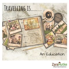 So, what does ‪#‎travel‬ mean to you? Share With Us. ‪#‎zarahutke‬