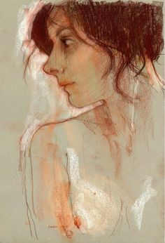 Derek Jones, 1945 ~ Watercolor Figurative painter