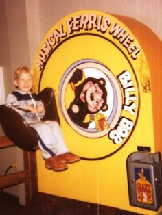 I remember riding this at Chuck.E.Cheese or Showbiz pizza :)