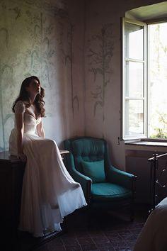 a stunning wedding portrait // Matthew Moore Photography