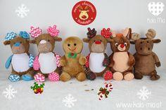 Unsere neuen lieben Weihnachtskuscheltiere sind ab sofort verfügbar   Hier findest du liebevoll gestaltete Babygeschenke, Kuscheltiere, Windeltaschen, Geschenke zur Geburt sowie individuell bestickte Stücke für dein Baby und Kind, ganz nach deinem Wunsch.   Außerdem nähe ich wundervolle Einzelstücke und individuelle Kleinserien an  Baby- und Kinderkleidung. Cubbies, Embroidered Towels, Teddy Bear, Toys, Ab Sofort, Flowers, Unique Gifts, Woodworking Toys, Baby Favors