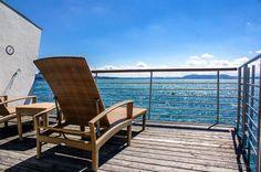 Hotel Palafitte on Lake Neuchatel, Switzerland