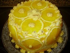 Tort  de portocale fara coacere - Galerie foto