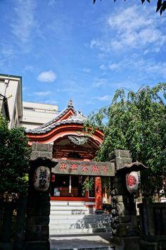 July 14, 2012  出世神社 a shrine  清澄白河 Kiyosumishirakawa