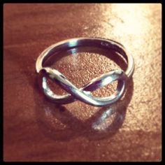 Infinity friendship ring